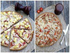 Experimente aus meiner Küche: Fladenbrotpizza