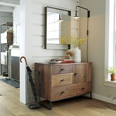 Federico Wall Mirror | Crate and Barrel
