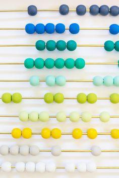 DIY Ombre Abacus @LovelyIndeed
