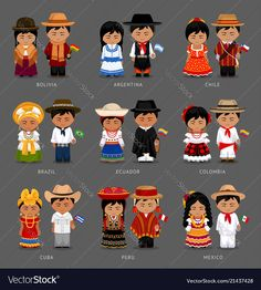 Find People National Dress Bolivia Argentina Chile stock images in HD and millions of other royalty-free stock photos, illustrations and vectors in the Shutterstock collection. Thousands of new, high-quality pictures added every day. Bolivia, Argentina Culture, Chili, Spanish Speaking Countries, World Thinking Day, Hispanic Heritage Month, Argentine, Traditional Outfits, Paper Dolls