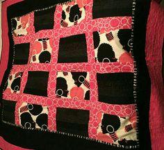 Homeschooling Diva by textile quilt artist, Kyna Clemons