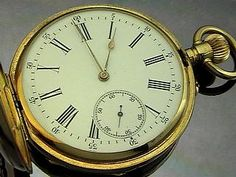 Imperial Presentation Hunter Cased Gold Pocket Watch by Pavel Bure, circa 1900, the polished gold case marked with 583 standard (14K), the cover applied wi