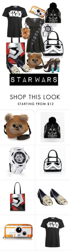 """""""Star Wars"""" by susanzf ❤ liked on Polyvore featuring ASOS, Bloomingdale's, Loungefly, Topman and starwars"""
