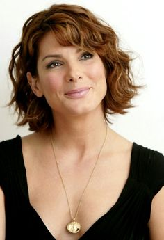 best+short+haircuts+2015 | Sandra Bullock Best Trend Hairstyles 2015 Short Curly Haircut with ...
