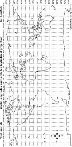 Lines of latitude and longitude | Mapping | Pinterest | Social ...