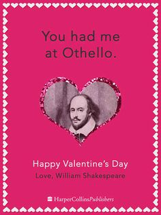 William Shakespeare | If Famous Writers Sent Valentines