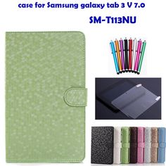 ZS case for samsung galaxy tab 3 V SM T116 SM T113NU 7''  tablet cover for samsung tab 3 V 7.0+screen protector+stylus-in Covers & Cases from Computer & Office on Aliexpress.com   Alibaba Group