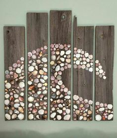 diy outdoor wall art outdoor wall art ideas outdoor wall decor lovely best outdo… DIY outdoor wall art outdoor wall art ideas outdoor wall decoration beautiful best outdoor wall art ideas on indoor outdoor wall art DIY outdoor wall art projects Seashell Art, Seashell Crafts, Beach Crafts, Fun Crafts, Arts And Crafts, Crafts With Seashells, Decorating With Seashells, Wall Art Crafts, Craft Art