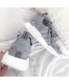 Cheap Adidas NMD Grey with Reflective Stripes Sale Clearance