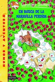 EN BUSCA DE LA MARAVILLA PERDIDA GERONIMO STILTON