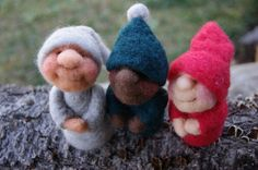 Pixies Needle Felting Kit with Video Tutorial on DVD by FeltAlive