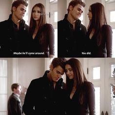 The Vampire Diaries 2x17 Stefan & Elena