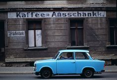 Blue Traband Prenzlauer Berg East Berlin 1975 Thomas Hoepker