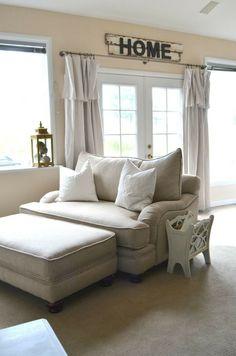 Comfy chairs #ComfyOverstuffedChairs
