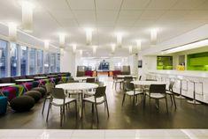 Lighting office canteen interior design - Interior Design | Exterior Design | Office Design | Home Design
