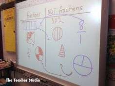 Today's blog post about how I uncovered a few of my students' misconceptions about fractions before digging into our next unit.  We have some work to do--but at least I have some ideas about how to help!