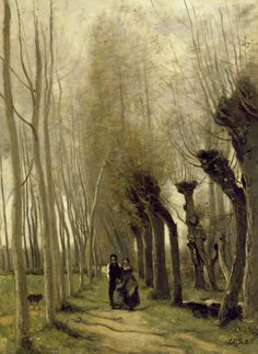 The Willows of Marissel (1857)    Jean Baptiste Camille Corot