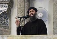 Abu Bakr al-Baghdadi, de kalief van ISIS