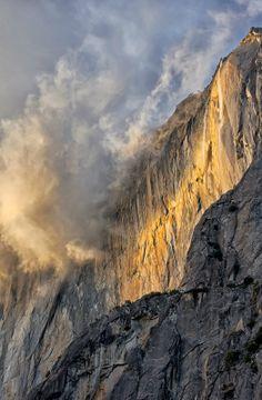 ~~Horsetail Falls ~ Yosemite National Park, California by Luc Mena~~