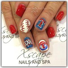 Texas Rangers Nails
