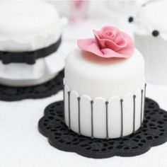 Bridal Shower Mini Cakes