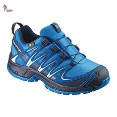 Homme Wings Flyte 2 GTX Chaussures de Course à Pied Et Trail Running, Synthétique/Textile, Noir, Pointure: 42Salomon