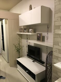 Condo Interior Design, Condo Design, Apartment Design, House Design, Small Condo Living, Condo Living Room, Tiny House Living, Small Space Design, Small Spaces
