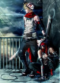 .Anbu SasuNaru Duo . by *sakimichan on deviantART