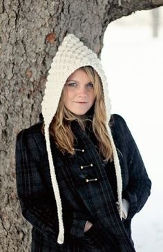 Hoodie CROCHET PATTERN Hat HOOD The Denver by JocelynDesigns