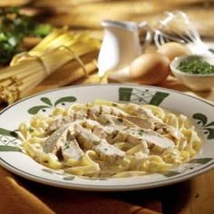 Oh my gosh! Made this for supper and it is delicious!!! Olive Garden Chicken Alfredo