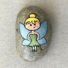 I ❤️ Tinkerbell #kindnessrocks #iheartrocks #rsrocks