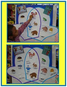 Golden Gang Kindergarten: The Mitten Venn Diagram lots of other great Kindy ideas