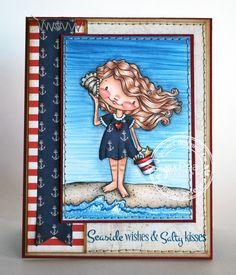 My Little Stampin' Spot: {SPD} Seaside Wishes