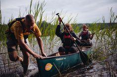 WIlderness #Canoeing in Lake Kattilajärvi #Nuuksio National Park #Espoo, near #Helsinki Helsinki, Cities In Finland, Urban City, Parka, Island, Explore, Nature, Pictures, Outdoor