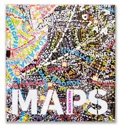 Paula Scher: MAPS by Pentagram , via Behance