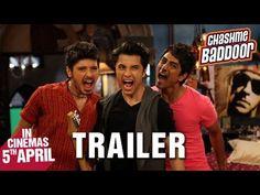 Chashme Baddoor - Official Trailer | Ali Zafar, Divyendu Sharma, Siddharth and Taapsee Pannu #Bollywood #Movies
