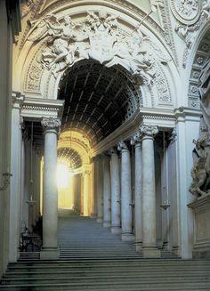 "villa-rosie: "" Scala Regia, Vatican City """