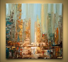 Cityscape Painting - Daylight #7469