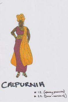 Costume design for Julius Caesar by Michael Vale