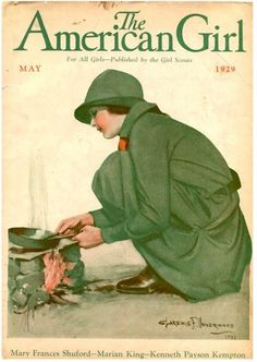 May 1929 - November 1932 - The American Girl: For All Girls - Published by the Girl Scouts