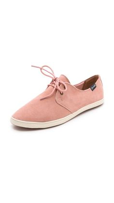 pale pink leather oxfords <3