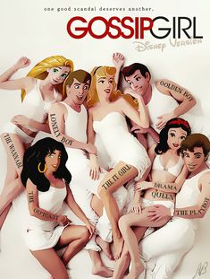 GOSSIP GIRL - disney version by MiSsViXeNlOvEIrOnIsT on DeviantArt