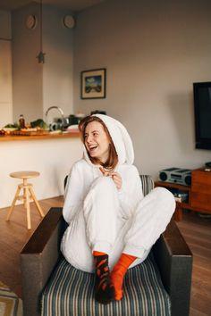 Mens Socks – Garden Carrot Socks Many Mornings – a unique product by Many-Mornings on DaWanda