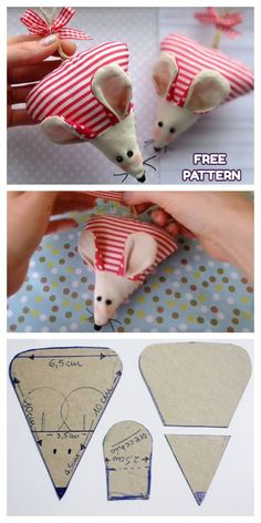 Sewing Techniques 297800594113276897 - Christmas Mouse Ornament Free Sewing Patterns Source by cnivoix Sewing Patterns Free, Free Sewing, Fabric Patterns, Sewing Tutorials, Free Pattern, Sewing Hacks, Dress Patterns, Christmas Sewing Patterns, Christmas Sewing Projects