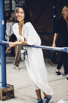 White after Labor Day is fine in our book when it looks this chic.