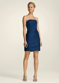 Bridesmaid Dresses by Color by David's Bridal Marine blue. Love it ...