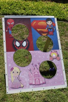 Princess and Superhero Birthday Party Ideas | Photo 2 of 34 | Catch My Party