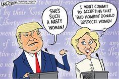 Landgren cartoon: Third Debate