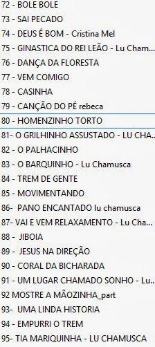 O blog Pedagogia Brasil  está disponibilizando para você 100 músicas infantis que podem ser usadas para acolhida na escola. Veja as fa...