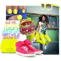 Neon Fashion Trend! by ithinkfashion on Polyvore